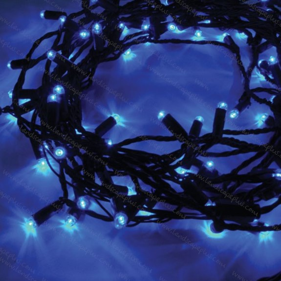 String light sets - blue LEDs