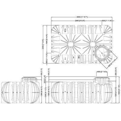Graf Flat Tank Underground Rainwater Harvesting Irrigation Tanks Rainwater Sprinkler Wiring Diagram on